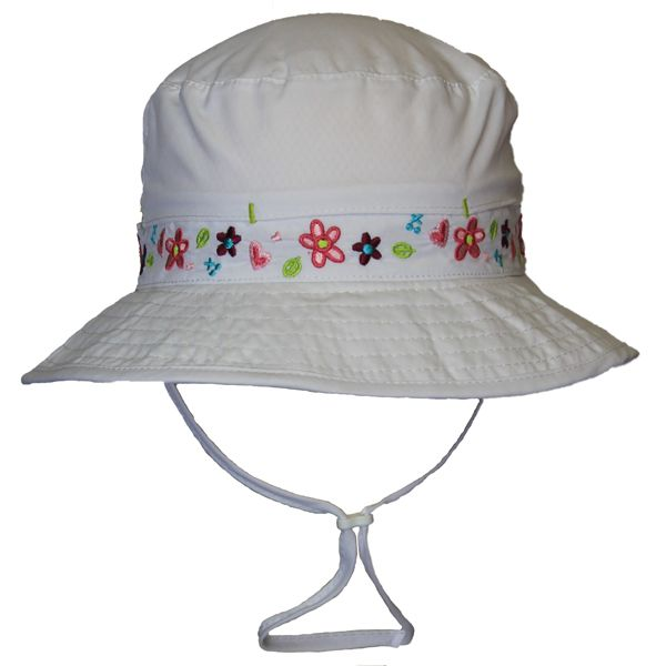 2aef7e9e749 Girls Vented UV Hat