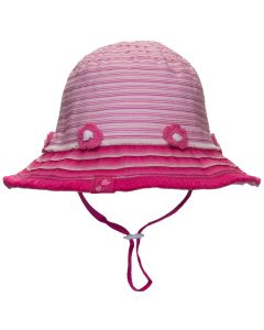 Girls Summer Flower Bucket Hat