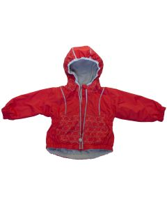 Girls Waterproof Mid Season Cat Jacket