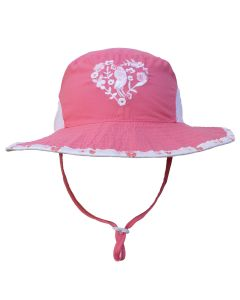 Girls UV 50+ Bucket Hat