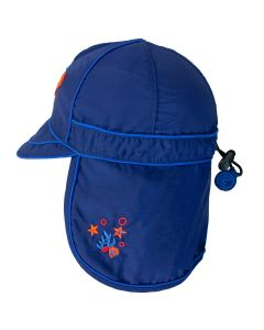 Boys UV 50+ Flap Hat
