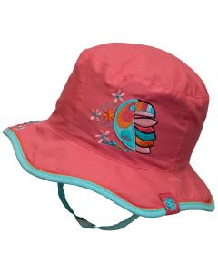 Girls Reversible Bucket Hat