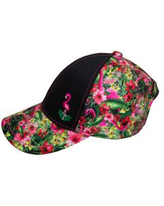 Girls Flamingo Ball Hat