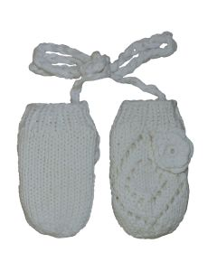 Cotton Knit Mitten