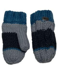Knit Striped Mitten